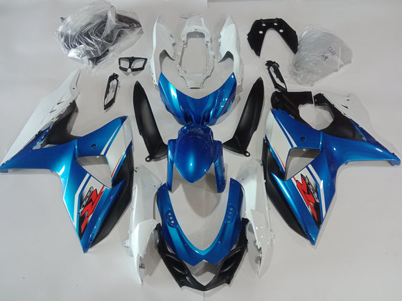 ---AU STOCKING--- Factory Blue Fairing For Suzuki GSX-R 1000 2009 - 2016