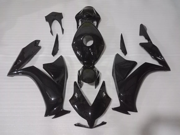 ---AU STOCKING---Fit Honda CBR1000RR 2012 - 2016 Gloss Black Fairing Kit