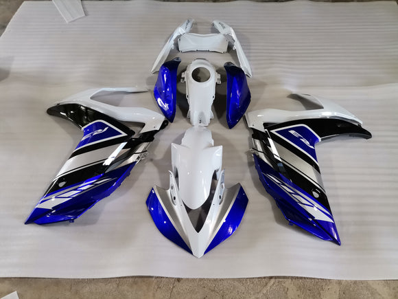 ---AU STOCKING---Blue White Fairing Kit For Yamaha R3 2015 2016 2017