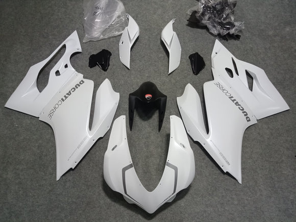 ---AU STOCKING--- Ducati 1299 Panigale Pearl White Fairing Kit