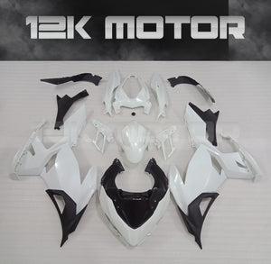 Buy KAWASAKI Ninja 400 Fairing Kit 2018-2019 Unpainted $600.00 Windscreen Black Matching Tank Cover & Rear Seat Cowl No Thanks - MOTORCYCLE FAIRING | 12K MOTOR