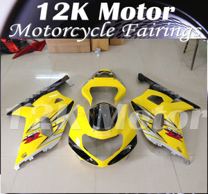 Yellow Fairing fit for SUZUKI GSXR 1000  2000 2001 2002 Aftermarket Fairings Kit