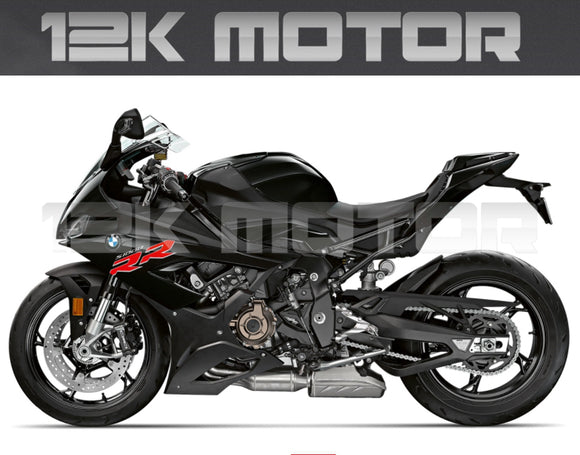 BMW S1000RR 2019 2020 Black Fairing Kit