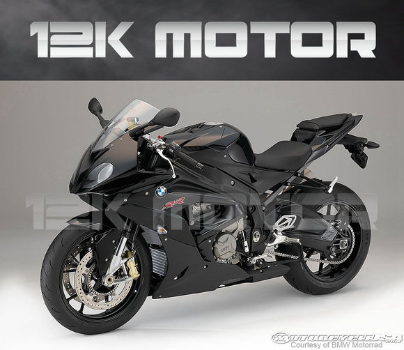 BMW S1000RR 2015-2018 Black Fairing | 12K MOTOR