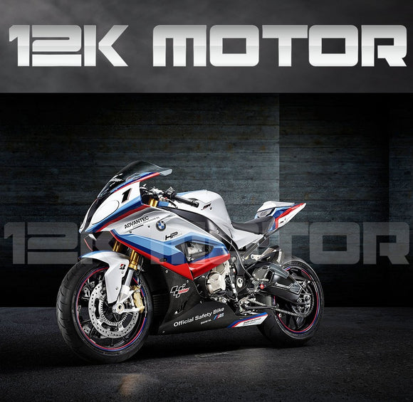 BMW S1000RR 2015-2018 Safety Bike Design Fairing | 12K MOTOR
