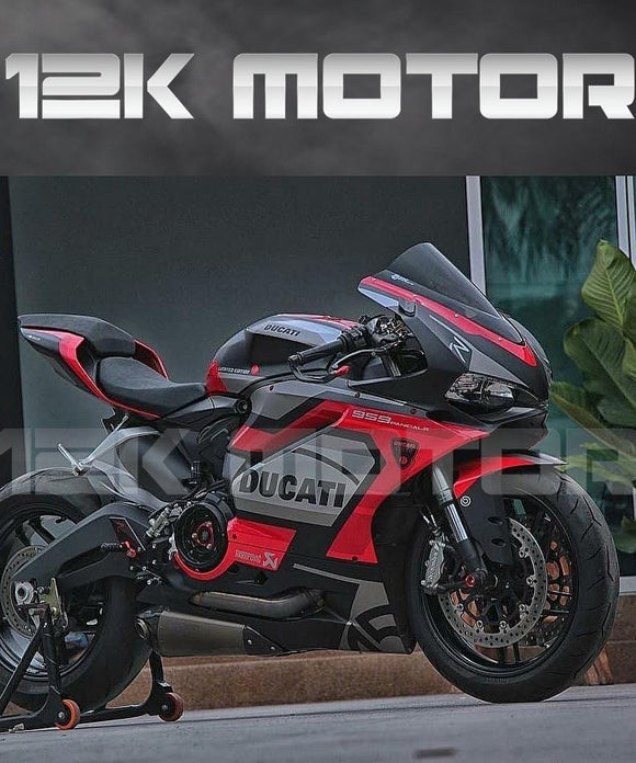 Buy Ducati 959/1299 Matt Black Red Fairing Bodywork & Frame: Fairings & Panels $770.00 Windscreen No Thanks Matching Rear Seat Cowl No Thanks Model(Stickers) 959 - MOTORCYCLE FAIRING | 12K MOTOR