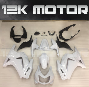 Buy KAWASAKI Ninja 250 2008-2012 White Fairing Bodywork & Frame: Fairings & Panels $580.00 Windscreen No Thanks Matching Tank Cover No Thanks - MOTORCYCLE FAIRING | 12K MOTOR