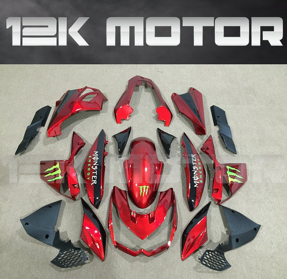 KAWASAKI Z1000 2010-2013 Red Fairing | 12K MOTOR