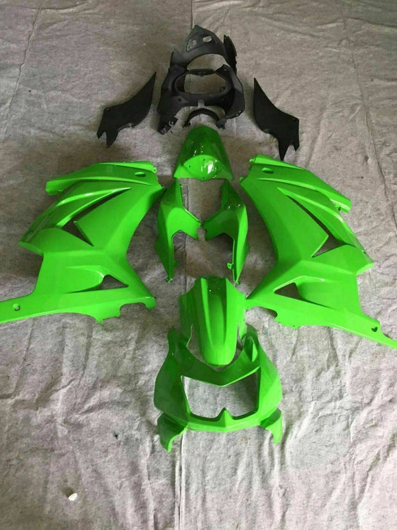 ---AUSTOCKING---Fit Kawasaki Ninja 250 Green Fairing kit