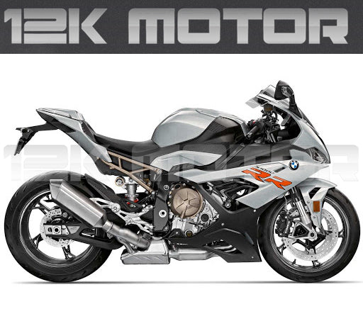 Silver Fairing Kit For BMW S1000RR 2019 2020