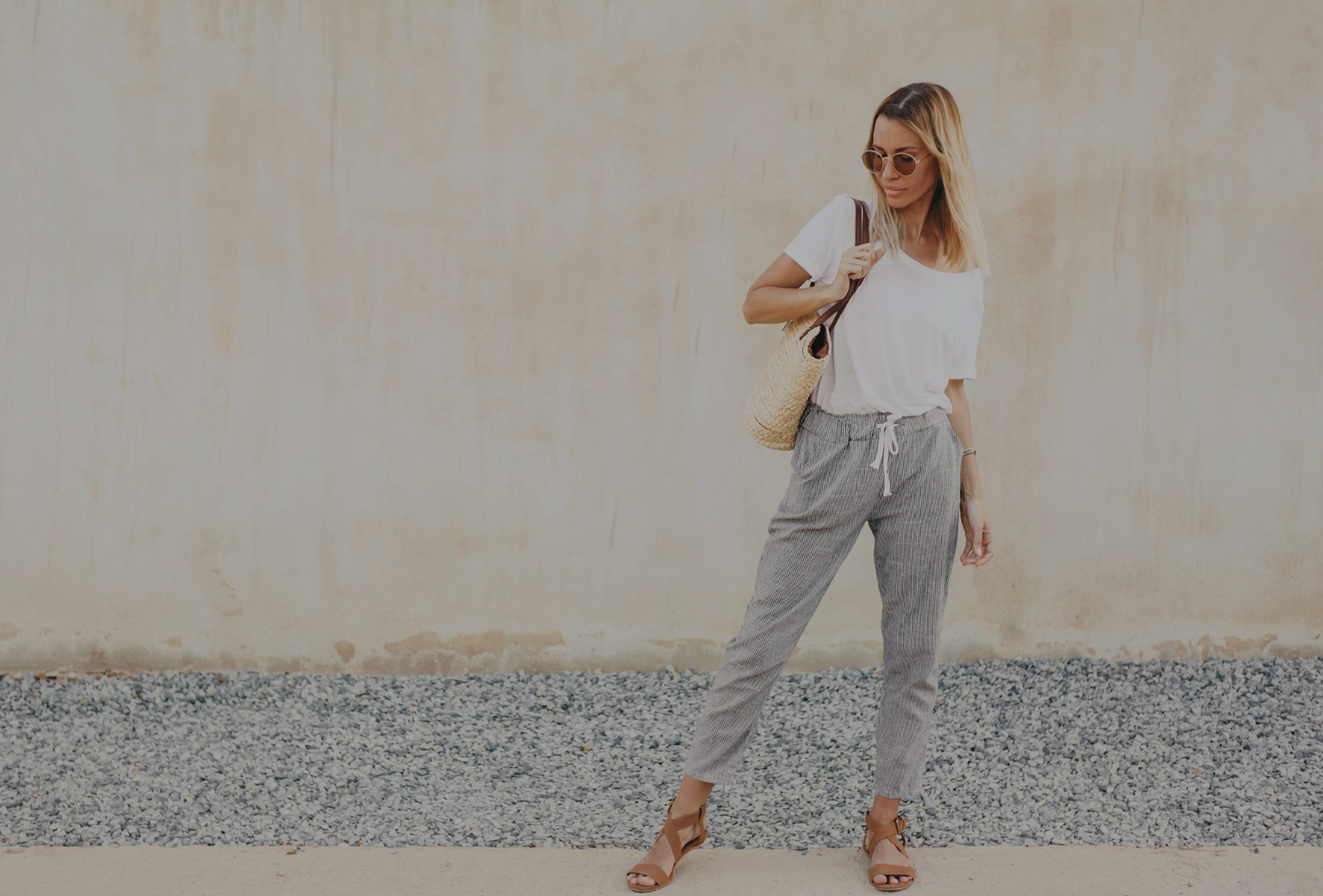8 Ways to style your plain white T-shirt