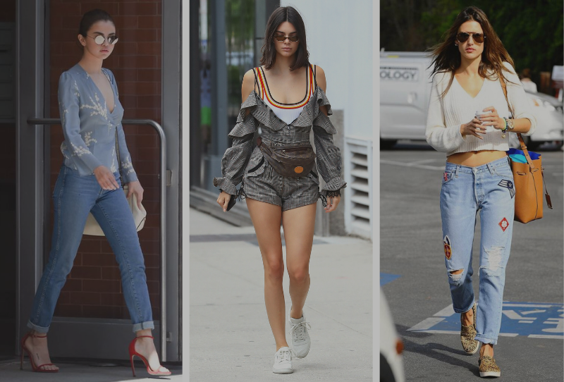 Street Style Selena Gomez, Steal Her Style Kendall Jenner, Look for Less Alessandra Ambrosio