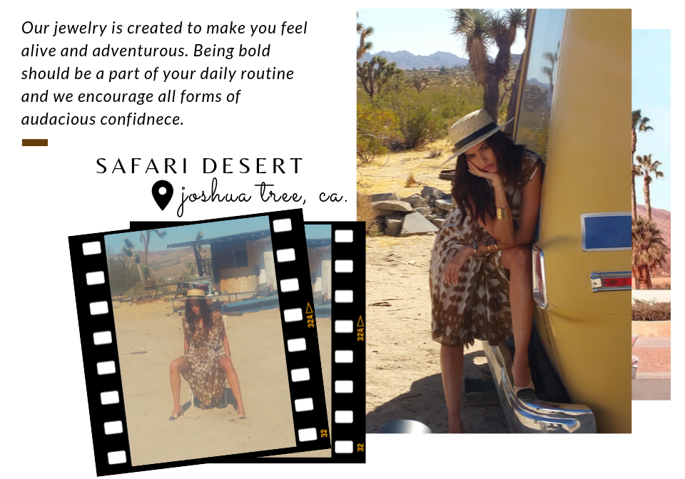 Charles Albert Jewelry Behind The Magic Joshua Tree x Palm Springs Shoot