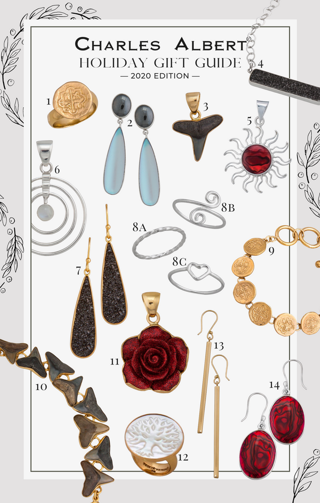 Charles Albert 2020 Holiday Gift Guide | 14 Jewelry Gifts for the Holidays