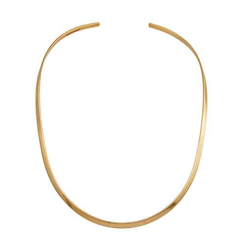 alchemia-thin-oval-open-neckwire - 1 - Charles Albert Inc