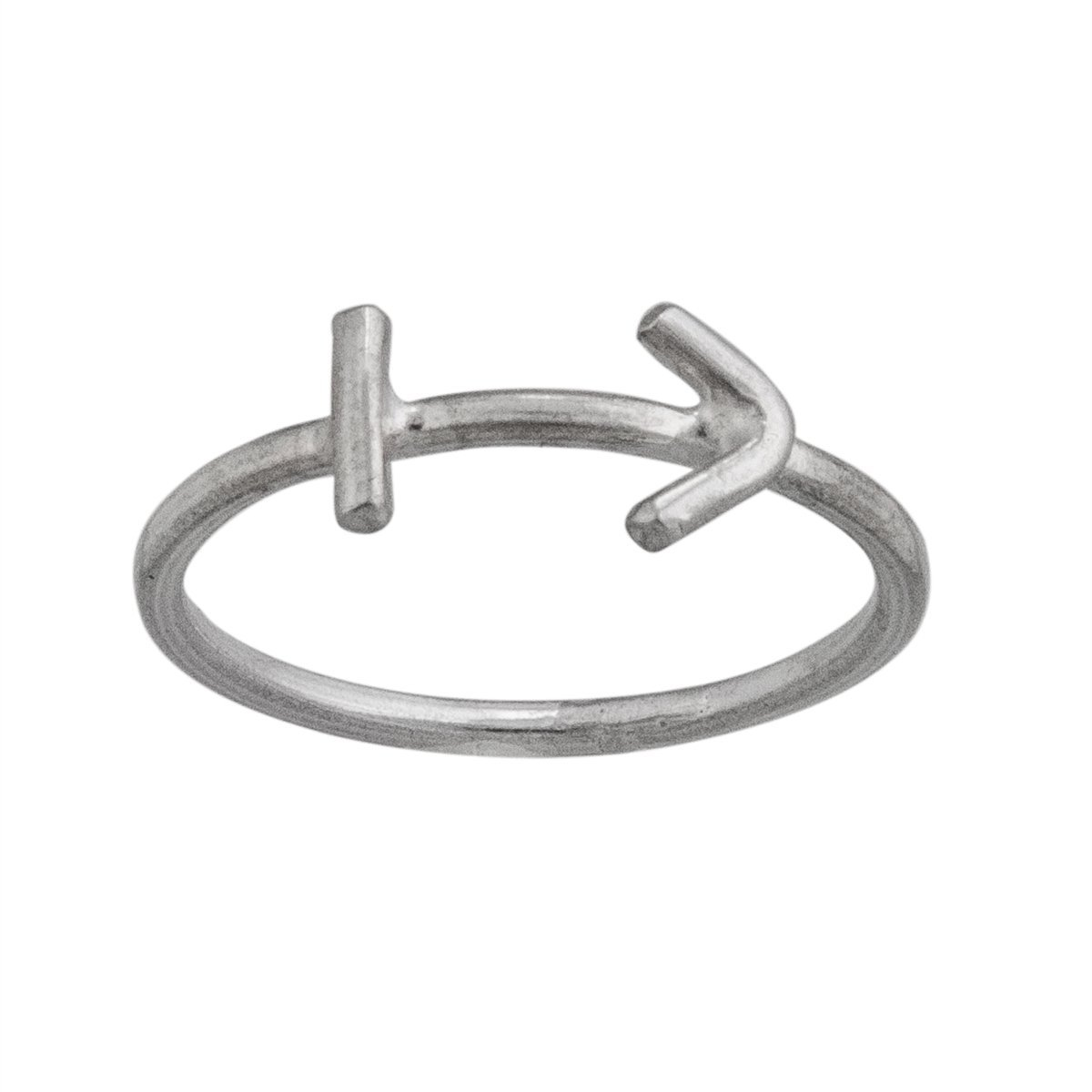 sterling-silver-sagittarius-ring - 1 - Charles Albert Inc