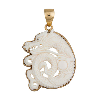 alchemia-dragon-bone-pendant-1 - 1 - Charles Albert Inc