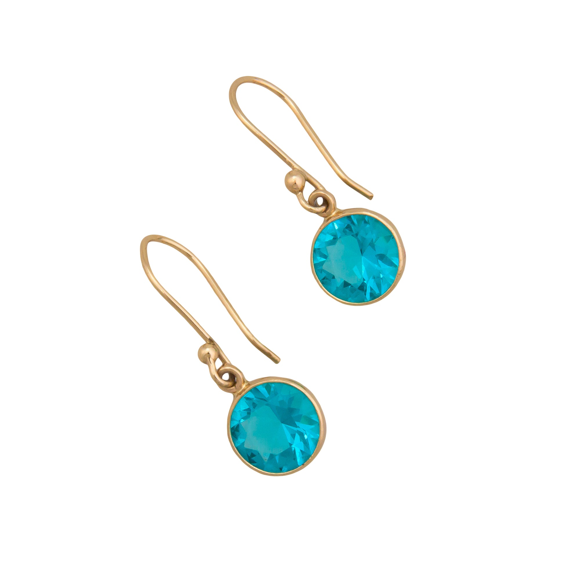 Alchemia Lab Created Paraiba Earrings