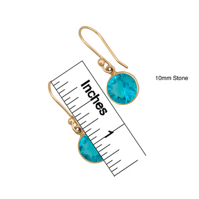Alchemia-Lab-Created-Paraiba-Earrings-3-Charles Albert Inc