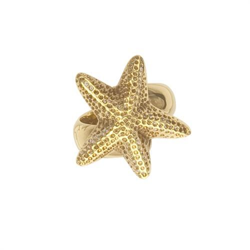 Alchemia Starfish Adjustable Ring | Charles Albert Jewelry