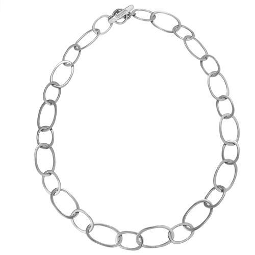 Sterling Silver Lightweight Chain Link Necklace | Charles Albert Jewelry