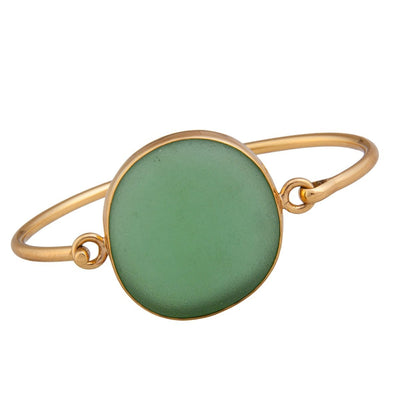 alchemia-green-recycled-glass-bangle - 1 - Charles Albert Inc