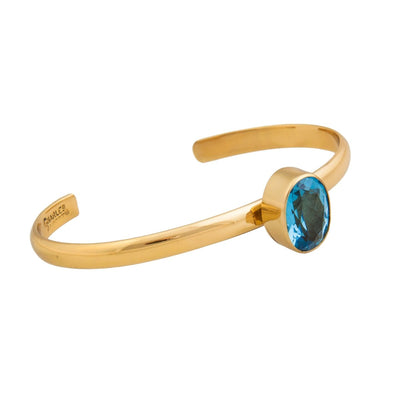 alchemia-blue-topaz-mini-cuff - 3 - Charles Albert Inc
