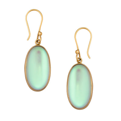 Alchemia Oval Luminite Earrings