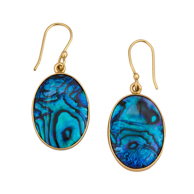 alchemia-blue-abalone-earrings - 1 - Charles Albert Inc