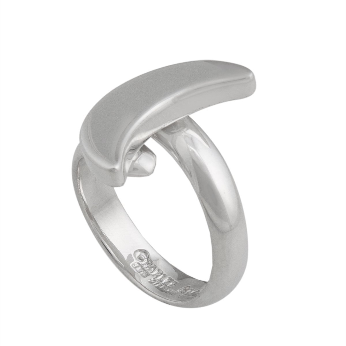 Sterling Silver Moon Adjustable Ring | Charles Albert Jewelry