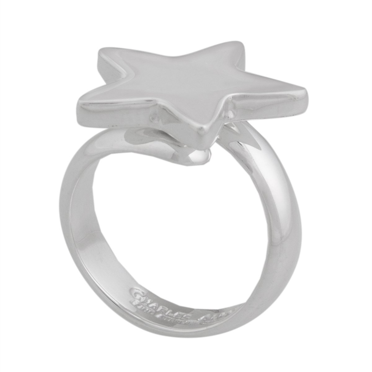 Sterling Silver Star Adjustable Ring | Charles Albert Jewelry