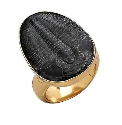 Alchemia Trilobite Adjustable Ring