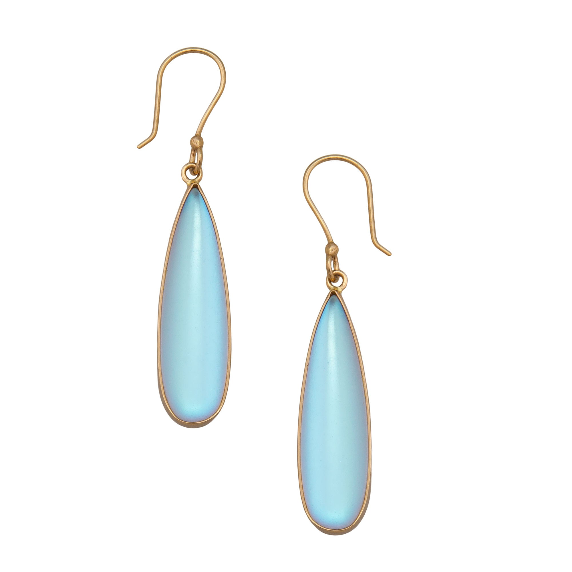 Alchemia Luminite Teardrop Earrings | Charles Albert Jewelry