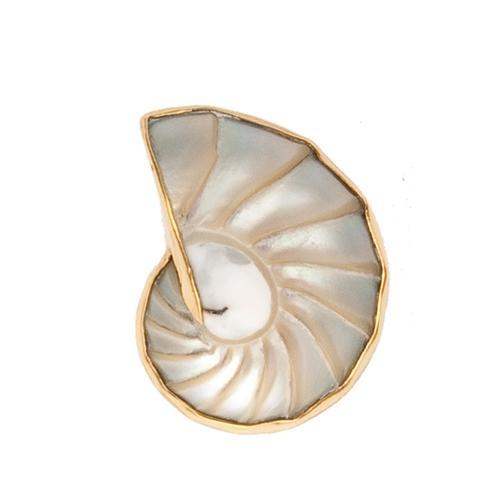 Alchemia Nautilus Shell Adjustable Ring