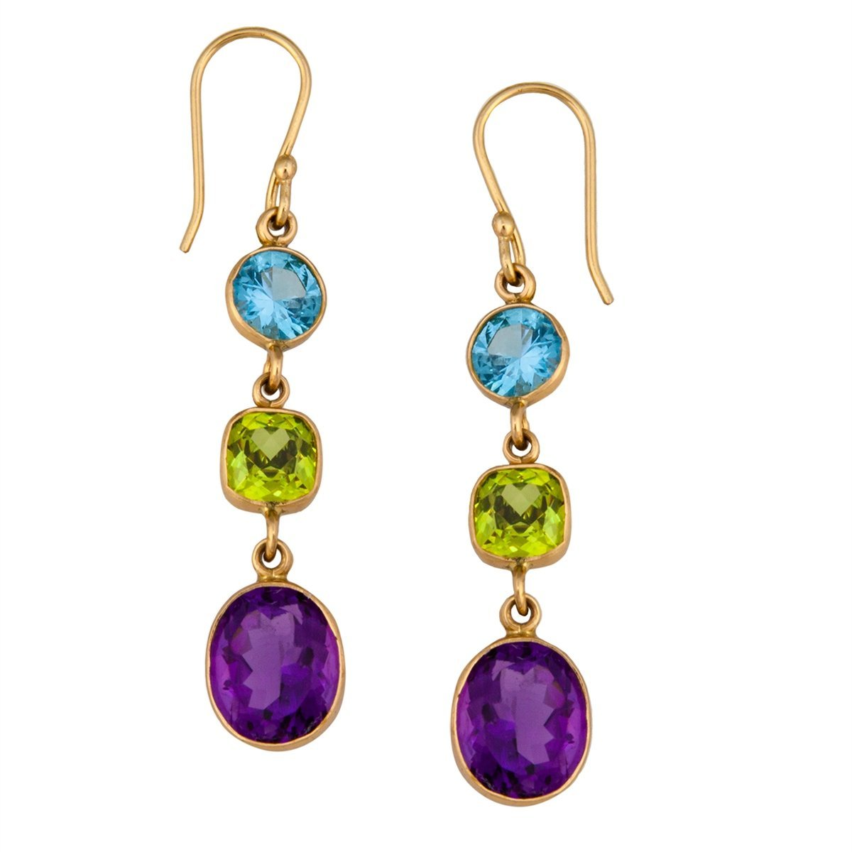 Alchemia Multi-Gemstone Earrings | Charles Albert Jewelry