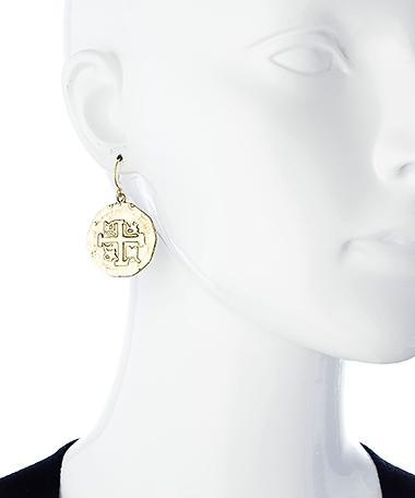 Alchemia Replica Treasure Coin Earrings | Charles Albert Jewelry