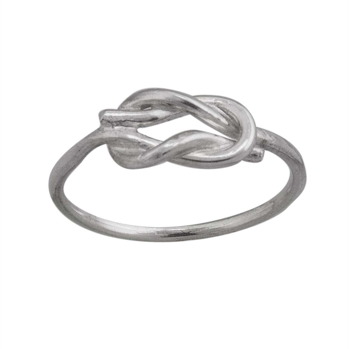 sterling-silver-assorted-sized-dozen-square-knot-rings - 1 - Charles Albert Inc
