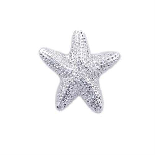 Sterling Silver Starfish Adjustable Ring | Charles Albert Jewelry