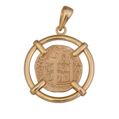 alchemia-treasure-coin-pendant - 1 - Charles Albert Inc
