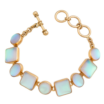 alchemia-luminite-oval-and-square-bracelet - 1 - Charles Albert Inc