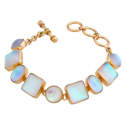alchemia-luminite-oval-and-square-bracelet - 2 - Charles Albert Inc