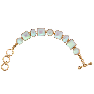 alchemia-luminite-oval-and-square-bracelet - 3 - Charles Albert Inc