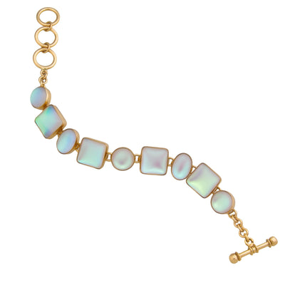alchemia-luminite-oval-and-square-bracelet - 4 - Charles Albert Inc