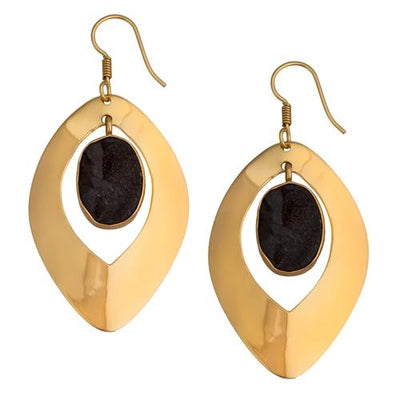 alchemia-druse-drop-earrings - 1 - Charles Albert Inc