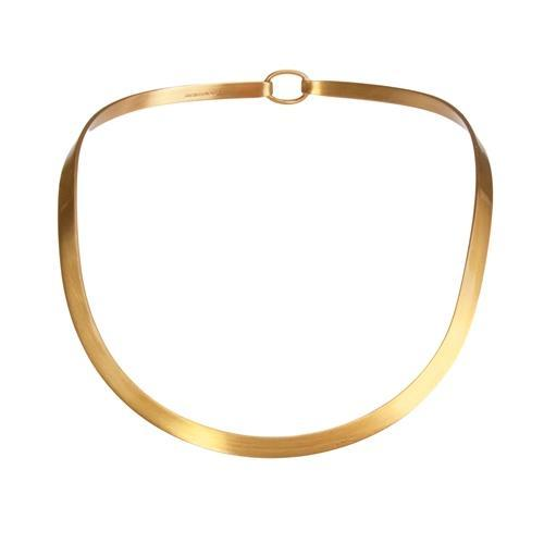 Alchemia Thicker Matte Round Neckwire with Clasp | Charles Albert Jewelry