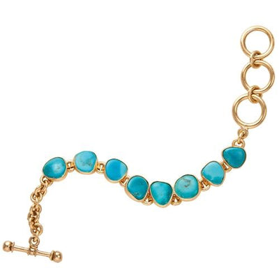alchemia-sleeping-beauty-turquoise-bracelet - 1 - Charles Albert Inc