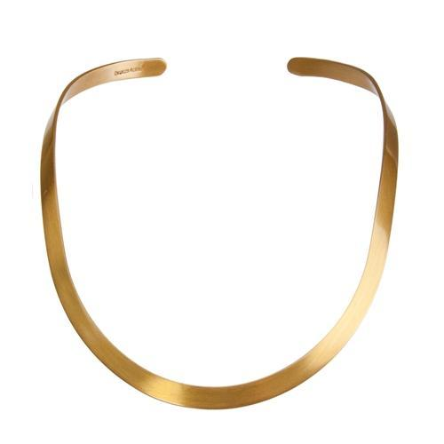 Alchemia 6mm Matte Open Oval Neckwire | Charles Albert Jewelry