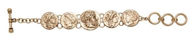 alchemia-replica-greek-coin-bracelet - 2 - Charles Albert Inc