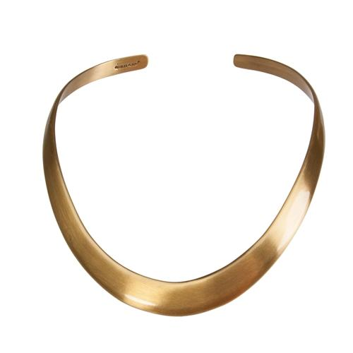 Alchemia Matte Graduated Collar | Charles Albert Jewelry