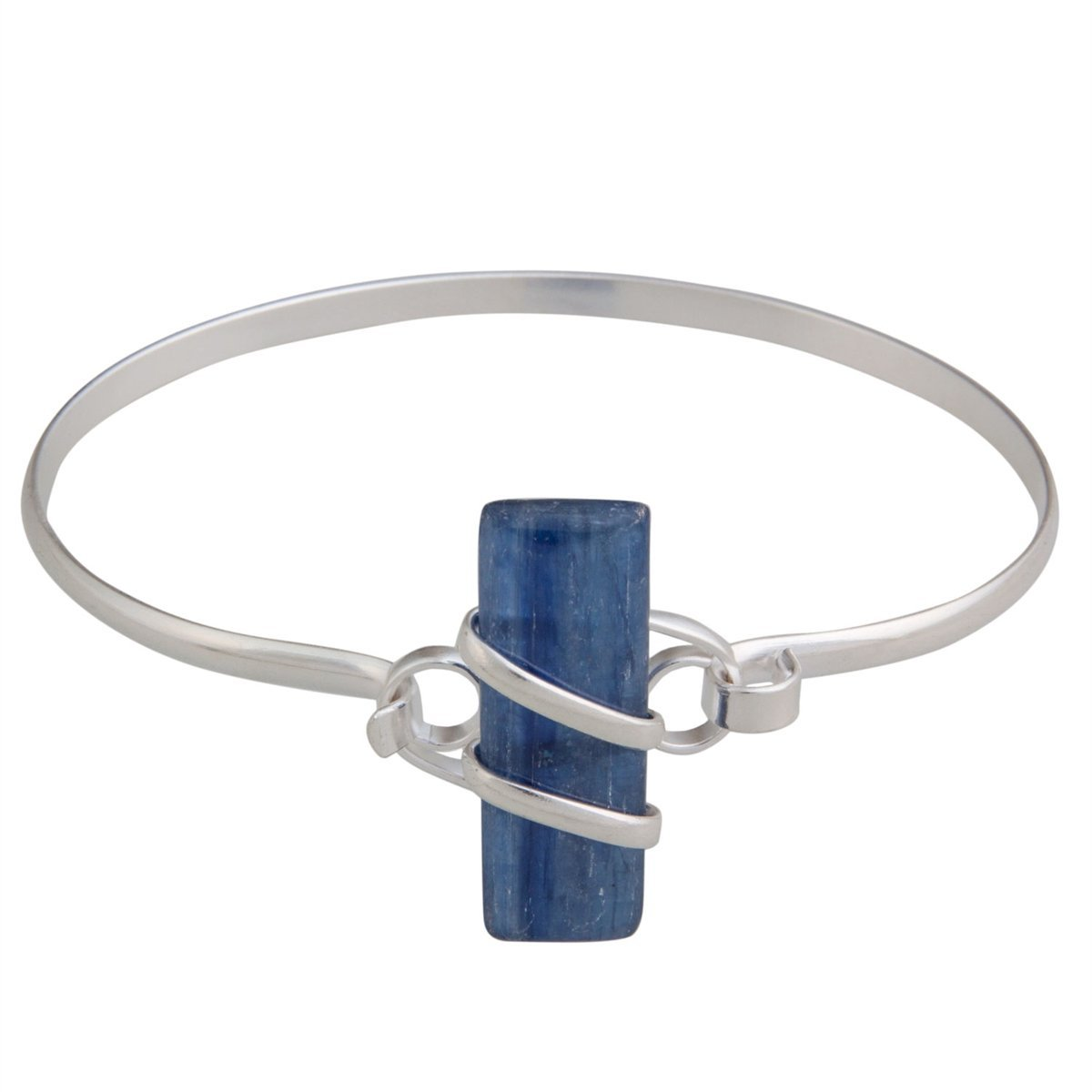 Alpaca Kyanite Bangle | Charles Albert Jewelry